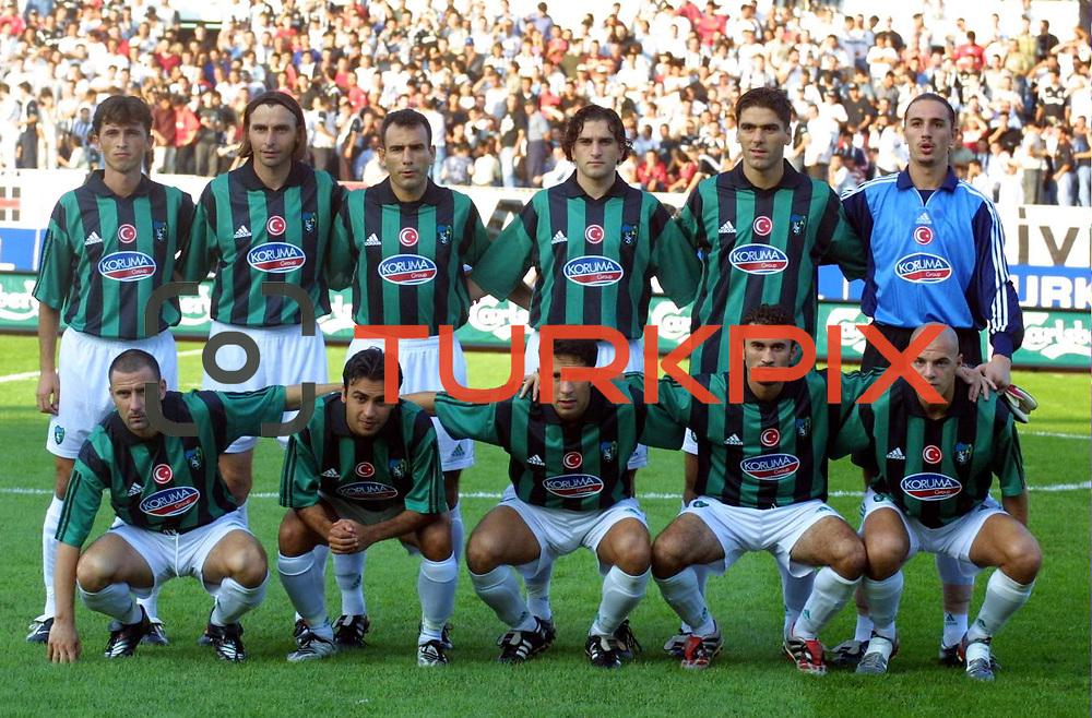 Turkish Soccer...<br /> Turkish Soccer Super League team Kocaelispor. Kocaeli/TURKEY<br /> Photo by Aykut AKICI/TurkSporFoto