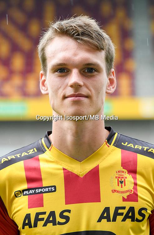 20170706 - Mechelen, Belgium / Photoshoot Kv Mechelen 2017 - 2018 / <br /> Wouter VERHOEVEN<br /> © Isosport