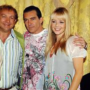NLD/Amsterdam/20070612 - Photocall Shrek 3 met Antonio Banderas en Cameron Diaz, met de nederlandse stemmencast, Jon van Eerd en Chantal Janzen