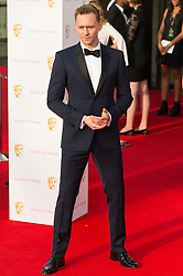 © Licensed to London News Pictures. 08/05/2016. London, UK. TOM HIDDLESTON attends the BAFTA Television Awards 2016. Photo credit: Ray Tang/LNP