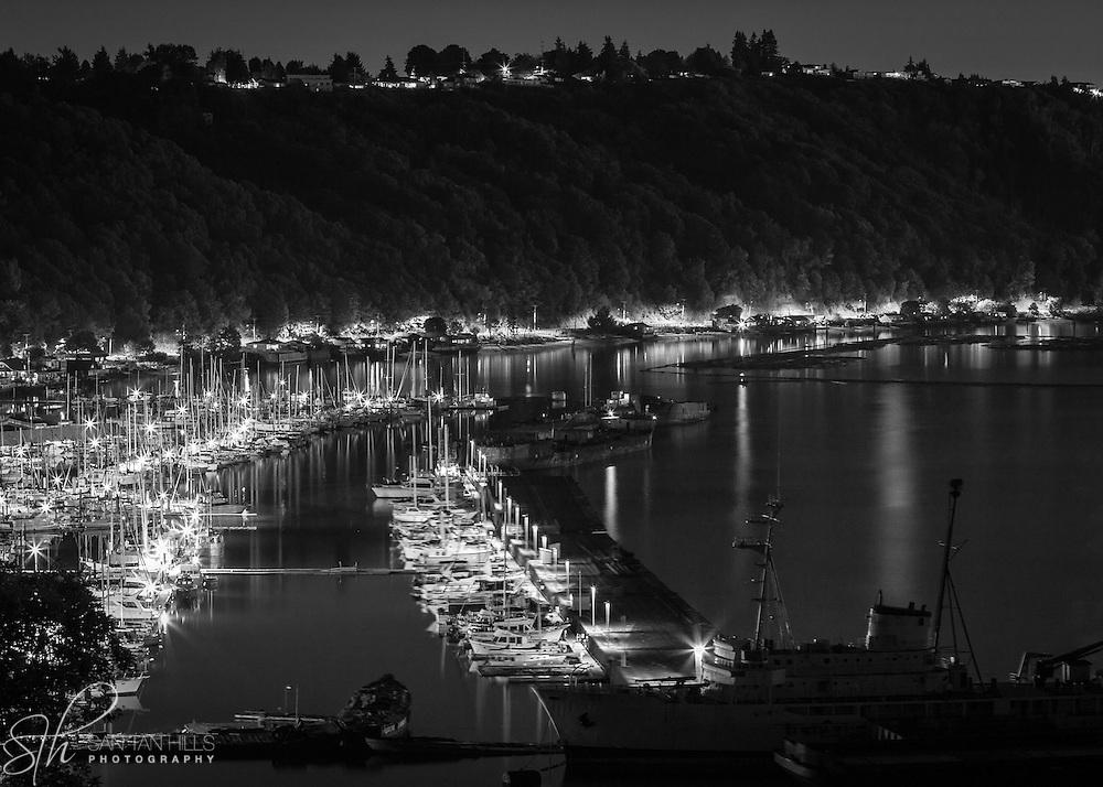 Tacoma bay by night - WA