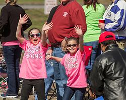 2014 Boston Marathon: spectators along race course
