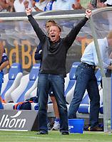 Jubel Ralf Rangnick , Aufstieg TSG Hoffenheim<br /> 2. Bundesliga TSG 1899 Hoffenheim - SpVgg Greuther Fuerth<br /> <br /> Norway only