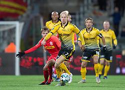 Peter Therkildsen (AC Horsens) under kampen i 3F Superligaen mellem FC Nordsjælland og AC Horsens den 19. februar 2020 i Right to Dream Park, Farum (Foto: Claus Birch).