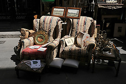 June 10, 2017 - Madrid, Spain - The 7th edition of DecorAcción, an antique flea market. Celebrated in the District of the Letters of Madrid of the 8 to 11 of June of the 2017. It can be found, elements of decoration and vintage furniture. (Credit Image: © Oscar Gonzalez/NurPhoto via ZUMA Press)