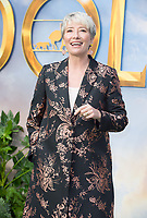 Emma Thompson  Arriving for the special screening of Dolittle, Leicester Square London.