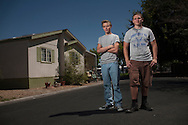 After escaping their burning home, Diego and Draven Avila broke through windows to return so that they could save their 14 year old brother who was trapped inside.