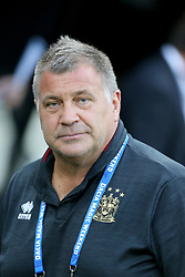 Wigan warriors Head Coach Shaun Wane at the Betfred Super League, Magic Weekend match at St James' Park, Newcastle. PRESS ASSOCIATION Photo. Picture date: Saturday May 19, 2018. See PA story RUGBYL Wigan. Photo credit should read: Richard Sellers/PA Wire. RESTRICTIONS: Editorial use only. No commercial use. No false commercial association. No video emulation. No manipulation of images.