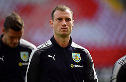 Burnley's Ashley Barnes before the game