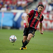 HARRISON, NEW JERSEY- OCTOBER 15: Michael Parkhurst #3 of Atlanta United in action during the New York Red Bulls Vs Atlanta United FC, MLS regular season match at Red Bull Arena, Harrison, New Jersey on October 15, 2017 in Harrison, New Jersey. (Photo by Tim Clayton/Corbis via Getty Images)
