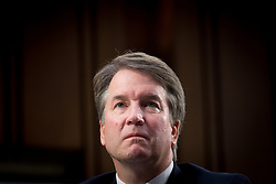 October 5, 2018 : FILE - Republicans in the US Senate, with the help of a lone Democrat, have voted to advance Brett Kavanaugh to a final floor vote, propelling the federal judge one step closer to the supreme court. Faced with multiple allegations of sexual misconduct, Kavanaugh cleared a key procedural hurdle in a narrow 51-49 vote that fell sharply along party lines. The outcome paved the way for a final vote as early as Saturday. Pictured: September 4, 2018 - Washington, District of Columbia, U.S. - U.S. Supreme Court nominee Judge Brett Kavanaugh appears before the Senate Judiciary Committee for his confirmation hearing on Capitol Hill. (Credit Image: © Erin Scott/ZUMA Wire) (Credit Image: © Erin Scott/ZUMA Wire/ZUMAPRESS.com)