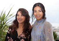 Athenais Sifaoui and Dany Martial at Mektoub, My Love: Intermezzo film photo call at the 72nd Cannes Film Festival, Thursday 23rd May 2019, Cannes, France. Photo credit: Doreen Kennedy