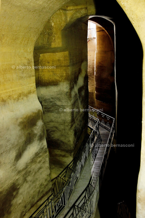 Matera, the Paolmbaro, one of the biggest cistern to collect the water of the world.