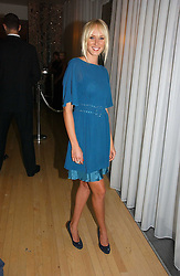KIMBERLEY STEWART at a party to celebrate the launch of Amy Sacco's book 'Cocktails' held at Sanderson, 50 Berners Street, London W1 on 10th July 2006.<br />