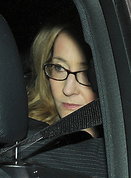 """© London News Pictures. 24/11/2011. London, UK.  Author Joanne """"Jo"""" Rowling, OBE AKA J.K Rowlin leaving The Royal Courts of Justice today (24/11/2011) after giving evidence at the Leveson Inquiry into press standards. The inquiry is being lead by Lord Justice Leveson and is looking into the culture, and practice of the UK press. Photo credit : Ben Cawthra/LNP"""