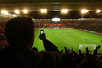 Fotball<br /> Foto: BPI/Digitalsport<br /> NORWAY ONLY<br /> 27.10.2004<br /> Carling Cup 3 runde<br /> <br /> Southampton v Colchester<br /> <br /> The new Premiership Licencing agreement is under threat as new technology, including mobile phone updates, threaten national newspaper coverage