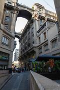 Calle Philips, Santiago, Chile.