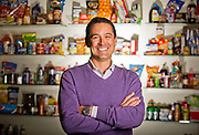 Editorial portrait photography of Brad Hoener executive at Pepsi Co.