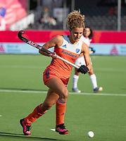 ANTWERPEN - Maria Verschoor (Ned)   tijdens  hockeywedstrijd  dames,Nederland-Spanje ,   bij het Europees kampioenschap hockey.   COPYRIGHT  KOEN SUYK