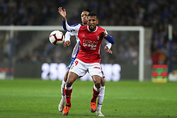 November 10, 2018 - Porto, Porto, Portugal - Sporting Braga's Brazilian forward Diego Sousa (R) vies with Porto's Brazilian defender Eder Militao (L) during the Premier League 2018/19 match between FC Porto and SC Braga, at Dragao Stadium in Porto on November 9, 2018. (Credit Image: © Dpi/NurPhoto via ZUMA Press)