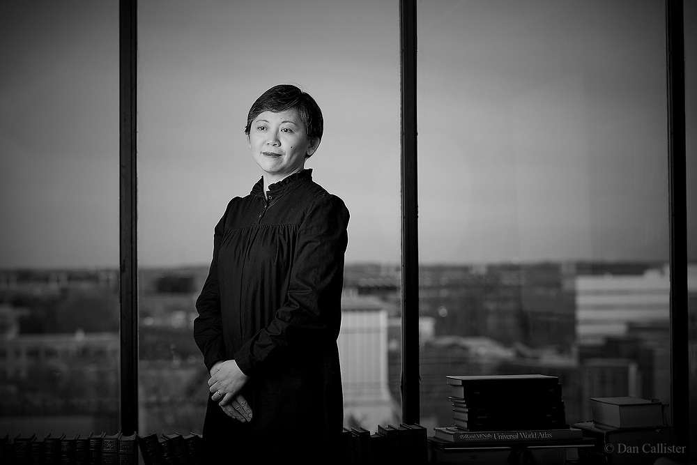 Author Yiyun Li, Princeton University by photographer Dan Callister