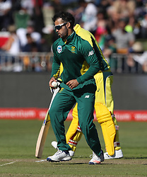 during the 3rd ODI match between South Africa and Australia held at Kingsmead Stadium in Durban, Kwazulu Natal, South Africa on the 5th October  2016<br /> <br /> Photo by: Steve Haag/ RealTime Images