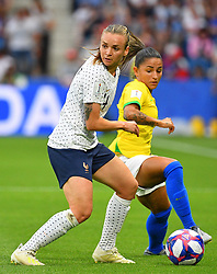 France's Marion Torrin during FIFA Women's World Cup France group A match France v Brazil on June 23, 2019 in Le Havre, France. France won 2-1 after extra time reaching quarter-finals. Photo by Christian Liewig/ABACAPRESS.COM