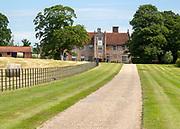 Bruisyard Hall country house venue, Bruisyard, Suffolk, England, UK once an abbey of Poor Clare nuns