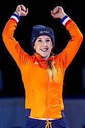 12-01-2019 NED: ISU European Short Track Championships 2019 day 2, Dordrecht<br /> Bronze medal Lara van Ruijven #16 NED 500m