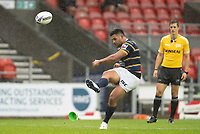 Rugby League - 2020 Coral Challenge Cup - Leeds Rhinos vs Wigan Warrior - TW Stadium, Stadium<br /> <br /> Leeds Rhinos's Jack Walker converts<br /> <br /> COLORSPORT/TERRY DONNELLY