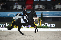Stegars Terhi, (FIN), Axis TSF<br /> Grand Prix Dressage<br /> Stuttgart - German Masters 2015<br /> © Hippo Foto - Stefan Lafrentz