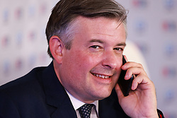 © Licensed to London News Pictures. 28/09/2021. Brighton, UK. JONATHAN ASHWORTH At the conference in the Broughton Centre . The fourth day of the 2021 Labour Party Conference , which is taking place at the Brighton Centre . Photo credit: Joel Goodman/LNP