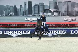 Offel Katharina (UKR) - Olivia de Nantuel<br /> CSI 5* Longines Hong Kong Masters 2013<br /> Longines Speed Challenge<br /> © Hippo Foto - Counet Julien