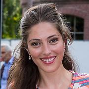 NLD/Amsterdam/20130714 - AFW 2013 Zomer, modeshow Tony Cohen inloop, Nadia Palesa Poeschmann