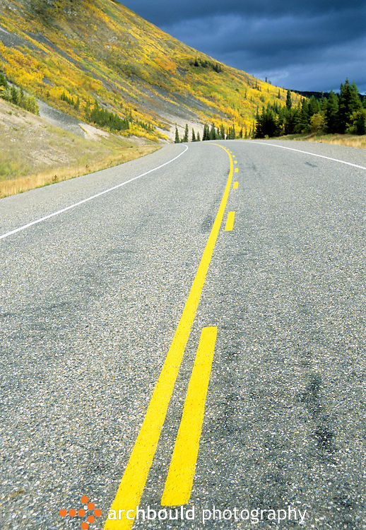 Alaska Highway, Yukon, Canada.
