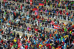 January 19, 2018 - Oberstdorf, GERMANY - 180119 Spectators at the Heini-Klopfer Arena during the FIS Ski Flying World Championships on January 19, 2018 in Oberstdorf..Photo: Vegard Wivestad GrÂ¿tt / BILDBYRN / kod VG / 170079 (Credit Image: © Vegard Wivestad Gr¯Tt/Bildbyran via ZUMA Wire)