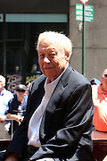 Lou McPhall at the Major League Baseball All-Stars and 49 Hall of Famers ride up Sixth Avenue in All Star-Game Red Carpet Parade Presented by Chevy on July 15, 2008