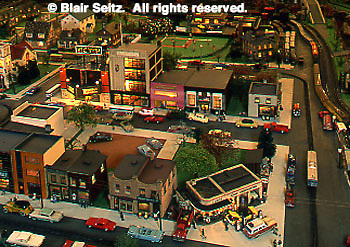 Roadside America Miniature Train Village, Shartlesville, Berks Co., PA