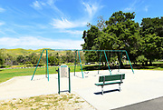 Playground Area With Swing Set at Irvine Regional Park