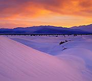 Saline Dunes at Dawn, Saline Valley Wilderness, Death Valley National Park, California