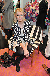 SOPHIE SUMNER at the Kate Spade NY hosted Chelsea Flower Show Tea Party held at Kate Spade, 2 Symons Street, London on 23rd May 2013.