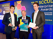 27/01/2014  The SCCUL Enterprise Award<br /> in the ICT Category winner was  Winner Cloud Dock<br /> <br /> The winner of the SCCUL Enterprise Award for ICT- is a very young company.<br /> It was founded in May 2013- and there are close links to NUI Galway as one of the co-founders was just finishing his final year of study here.  If I say it has its head in the clouds that might give you a clue as to what they do….<br /> In June the two founders attended a tech start up weekend in Dublin which rapidly accelerated their business and secured them a key advisor. <br /> In September they were accepted into the National Digital Research Centre LaunchPad accelerator programme which has accelerated the start up and growth of the business. <br /> The company has now hired its first employees and preparation has begun for the next round of funding for the business.<br /> What do they do?<br /> This company will manage and sort your files regardless of how they are sent to you. Whether you get attachments through email or links to files or folders from a cloud storage system, they automatically organise them in to the folder they belong to in your cloud storage.<br /> The winner of the SCCUL Enterprise Award ICT is Cloud Dock- Cian Brassil from Kilcolgan, Co. Galway and Scott Kennedy.<br /> Their prize is<br /> •specially commissioned piece of sculpture from locally based sculptor Liam Butler<br /> •€1000 cash<br /> •Full page Business profile worth €1250 in the Galway Independent SCCUL Enterprise Awards Souvenir Supplement which will be published<br /> <br /> Photo:Andrew Downes