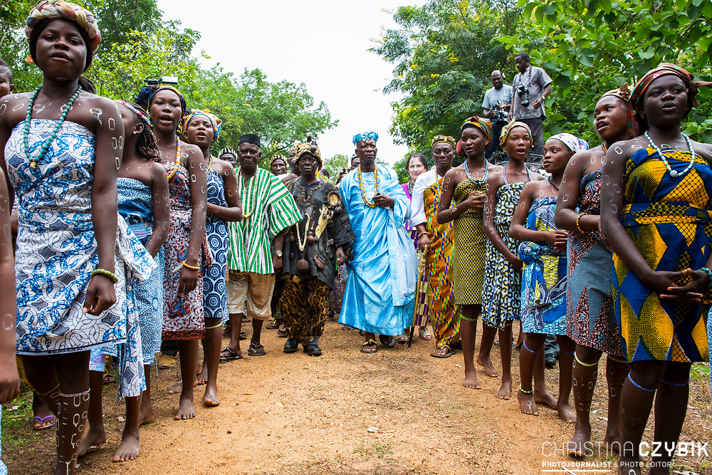King Cephas Bansah, wife Queen Gabriele Bansah and Ewefiaga Togbui Agboli K.F.Agokoli IV (King of the Ewe) in Notse<br /> <br /> Day 1 of the Agbogboza Festival in Notse, Togo on September 1st, 2016<br /> <br /> ***Togbe Ngoryifia Cephas Kosi Bansah of Gbi Traditional Area Hohoe Ghana and Traditional, Spiritual and Honorable King of the Ewes and his wife, Queen Mother Gabriele Akosua Bansah Ahado Hohoe Ghana***