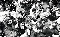 Claremont primary school nursery, Nottingham UK 1989