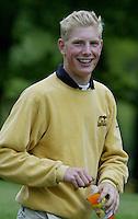 MOLENSCHOT - Wouter de Vries.    Voorjaarswedstrijd golf 2003 op GC Toxandria. . COPYRIGHT KOEN SUYK