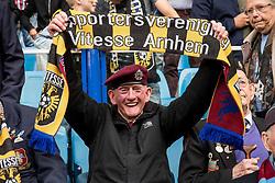 Airborne war veteran during the Dutch Eredivisie match between Vitesse Arnhem and VVV Venlo at Gelredome on September 17, 2017 in Arnhem, The Netherlands