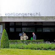 NLD/Hilversum/20110721 - De advocaat van Xavier Cabau, broer van Yolanthe Sneijder - Cabau van Kasbergen, veroordeeeld werd wegens mishandeling word geinterviewd