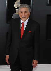 NEW YORK, NY - JANUARY 28: 60th Annual GRAMMY Awards at Madison Square Garden on January 28, 2018 in New York City. 28 Jan 2018 Pictured: Tony Bennett. Photo credit: JP/MPI/Capital Pictures / MEGA TheMegaAgency.com +1 888 505 6342