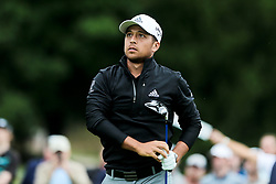 September 8, 2018 - Newtown Square, Pennsylvania, United States - Xander Schauffele watches his shot off the 11th tee during the third round of the 2018 BMW Championship. (Credit Image: © Debby Wong/ZUMA Wire)