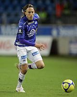Fotball, <br /> 03.10.2010 , <br /> Tippeligaen  ,<br /> Eliteserien ,<br /> Molde - Kongsvinger 2-0 ,<br /> Aker stadion ,<br /> <br /> Emil johansson - molde<br /> Foto: Richard brevik , Digitalsport